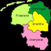 Kaart Noord Oost